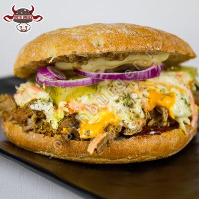 sandwich cubano, south burger